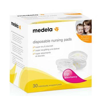 Absorbentes de leche (30 Un) desechables Medela