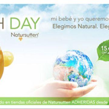 Promocion Natursutten Earthday