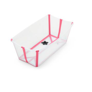Bañera plegable Flexi Bath (Transparent Pink) Stokke