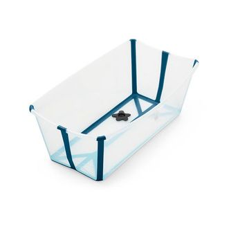 Bañera plegable Flexi Bath (Transparent Blue) Stokke