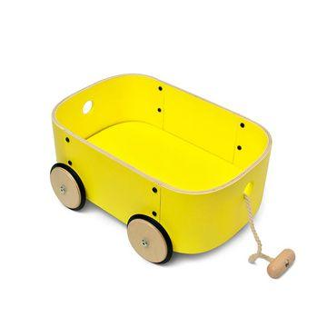 Carro de Arrastre Lupe (Amarillo) Roda