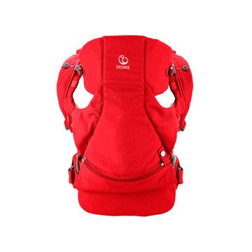 Mochila Porta Bebé Frontal y Dorsal My Carrier (Red) Stokke