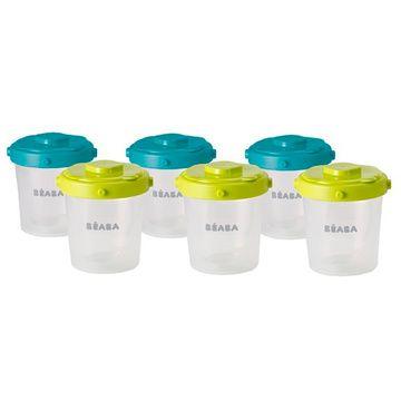Envases Comida 200 ml (6 u) Verde Béaba