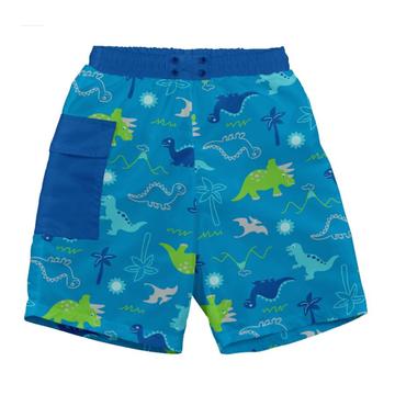 Traje de Baño con Pañal Short (Celese Dino) Iplay