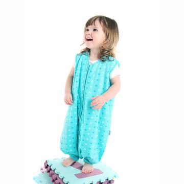 Saquito Dormir Tog 1 (2 a 3 años) Feet Teal Star Slumbersac