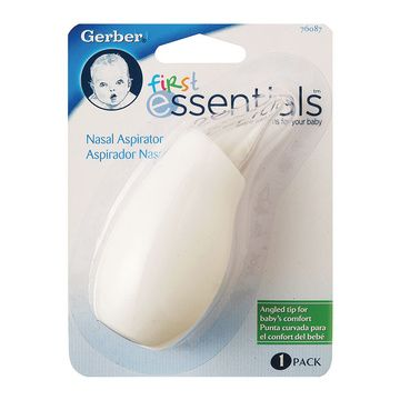 Aspirador nasal bebé Gerber