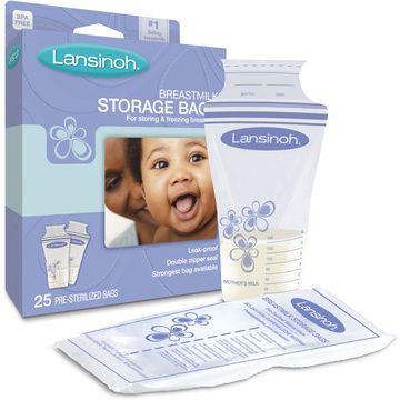 Bolsas almacenamiento leche materna (25 Un) Lansinoh