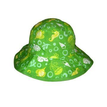 Gorro protección Bebé UV 50+ (Verde) Baby Banz