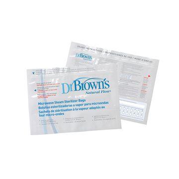 Bolsas Esterilizadoras para microonda (5 Un) Dr. Brown's