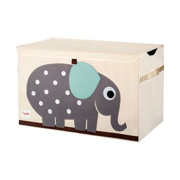 Baúl de juguetes Elefante gris 3 Sprouts