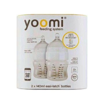 Mamadera Yoomi 140 ml. (2 unidades)
