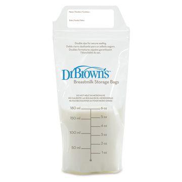 Bolsas Almacenamiento leche materna (25 unidades) Dr. Brown's
