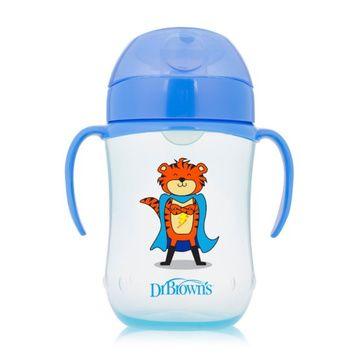 Vaso Antiderrame Boquilla suave (270 ml) Azul Dr. Brown's
