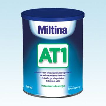 Fórmula Extensamente Hidrolizada Miltina Humana AT1 (400 gr.)