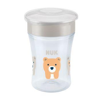 Vaso Aprendizaje Magic Cup (Blanco Oso) Nuk