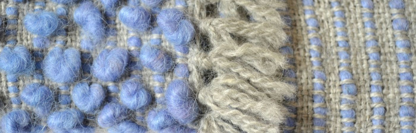 Suave alpaca tejida a telar