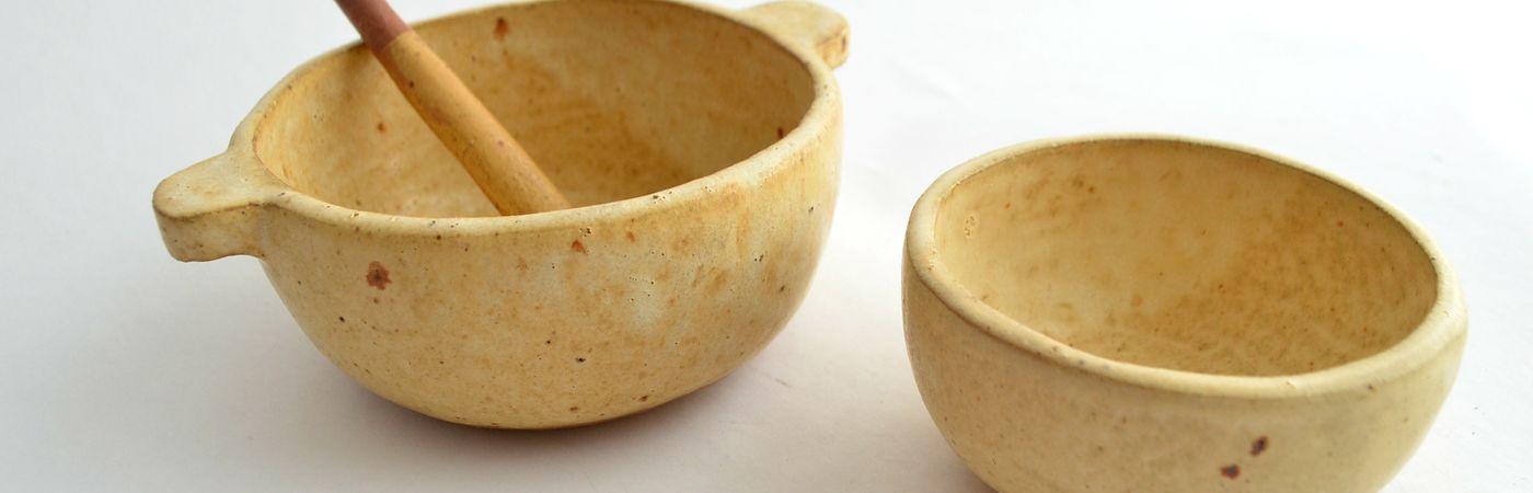 Un toque original en tu decoración con pocillos de cerámica gres