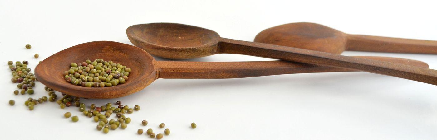 ¡Las clásicas cucharas de madera!