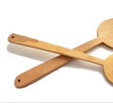 Set de 2 paletas de madera nativa