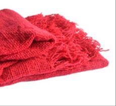 Chal lana color guinda o rosa fuerte