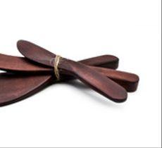 Set 3 cuchillos- paletas madera alerce