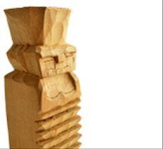 Rehue pequeño, figura sagrada Mapuche