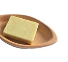 Porta jabón ovalado en cerámica de Pañul