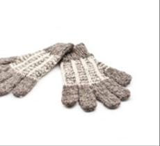 Par de guantes para niños en lana 100% natural