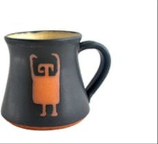 Tazón Colección Petroglifos - Personaje negro