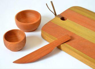 Sets de aperitivo en maderas nativas para celebrar en grande estas fiestas de fin de año