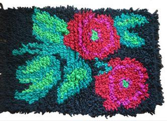Las alegres alfombras floreadas tradicionales de Chiloé llenan tu casa de alegría
