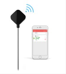 Termómetro Easy BBQ Nano Bluetooth con alarma