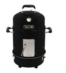 Ahumador a carbón-parrilla Dyna Glo 390 Negro (EN STOCK DISPONIBLE)