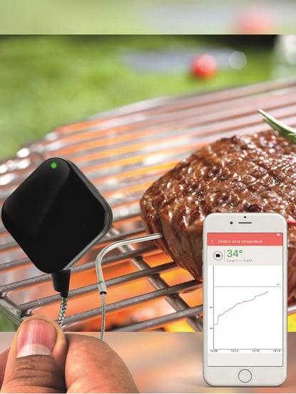 Termómetro Easy BBQ Nano L Bluetooth con alarma