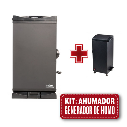 Kit Ahumador Masterbuilt 30 + Generador de humo frío
