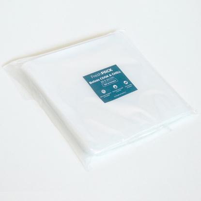 200 Bolsas Lisas Sellado Al Vacío Cook And Chill 70 Micras 20 x 20 cm