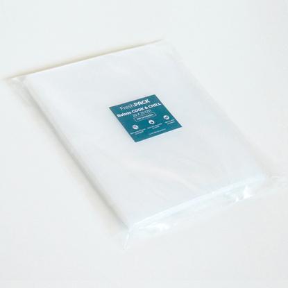 100 Bolsas Lisas Sellado Al Vacío Cook And Chill 70 Micras 20 x 25 cm