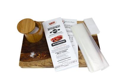 Pack 5 bolsas para madurar charcutería UMAI DRY 25x27,5 cm