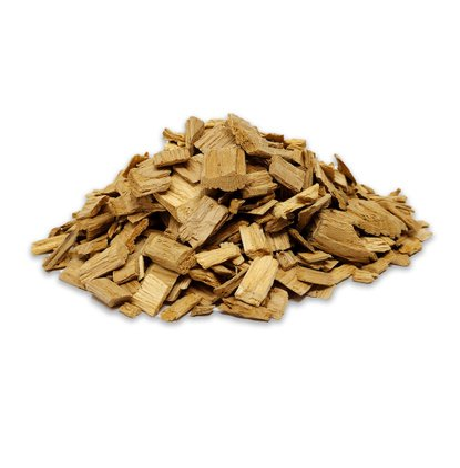 Chips de madera de ROBLE 2 KG - 8 Litros - Chips grandes #3 (10-25 mm)