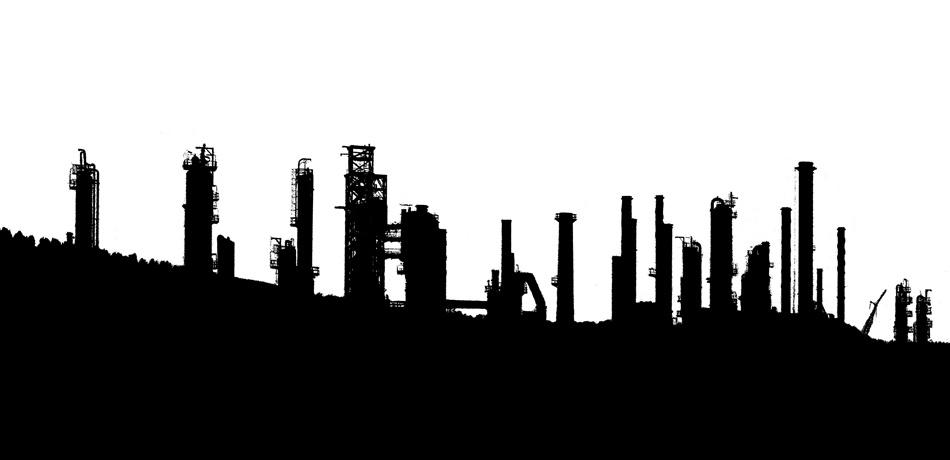 05. Industrial Landscape Silhouette 1