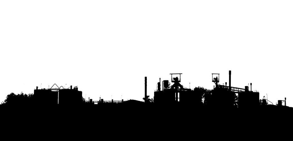 06. Industrial Landscape Silhouette 2