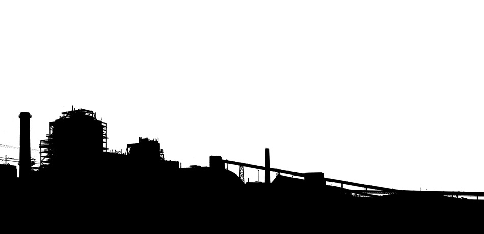 07. Industrial Landscape Silhouette 3