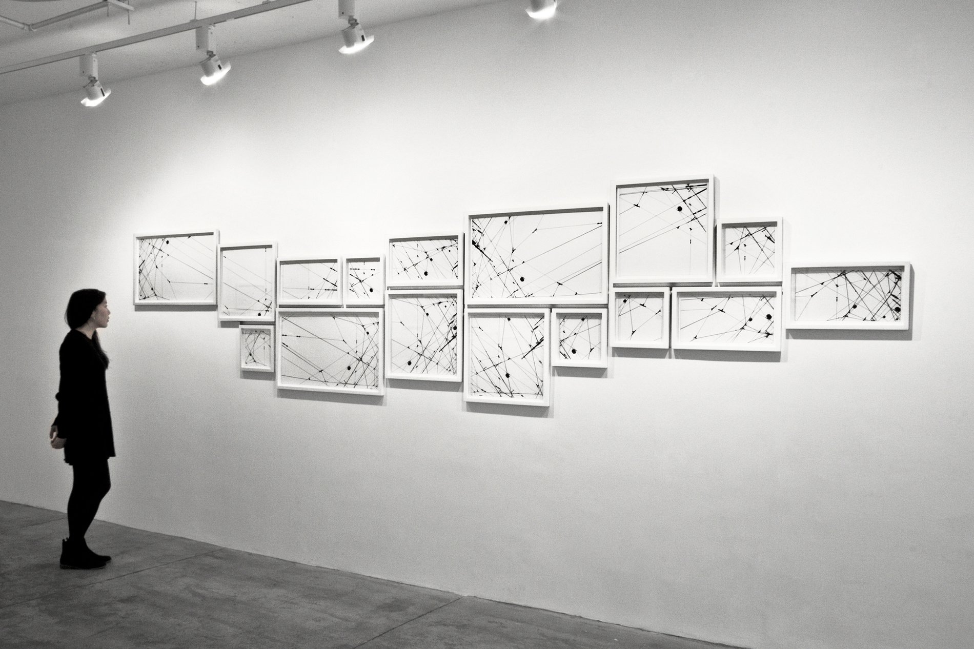 Lines 06-2 - Installation view