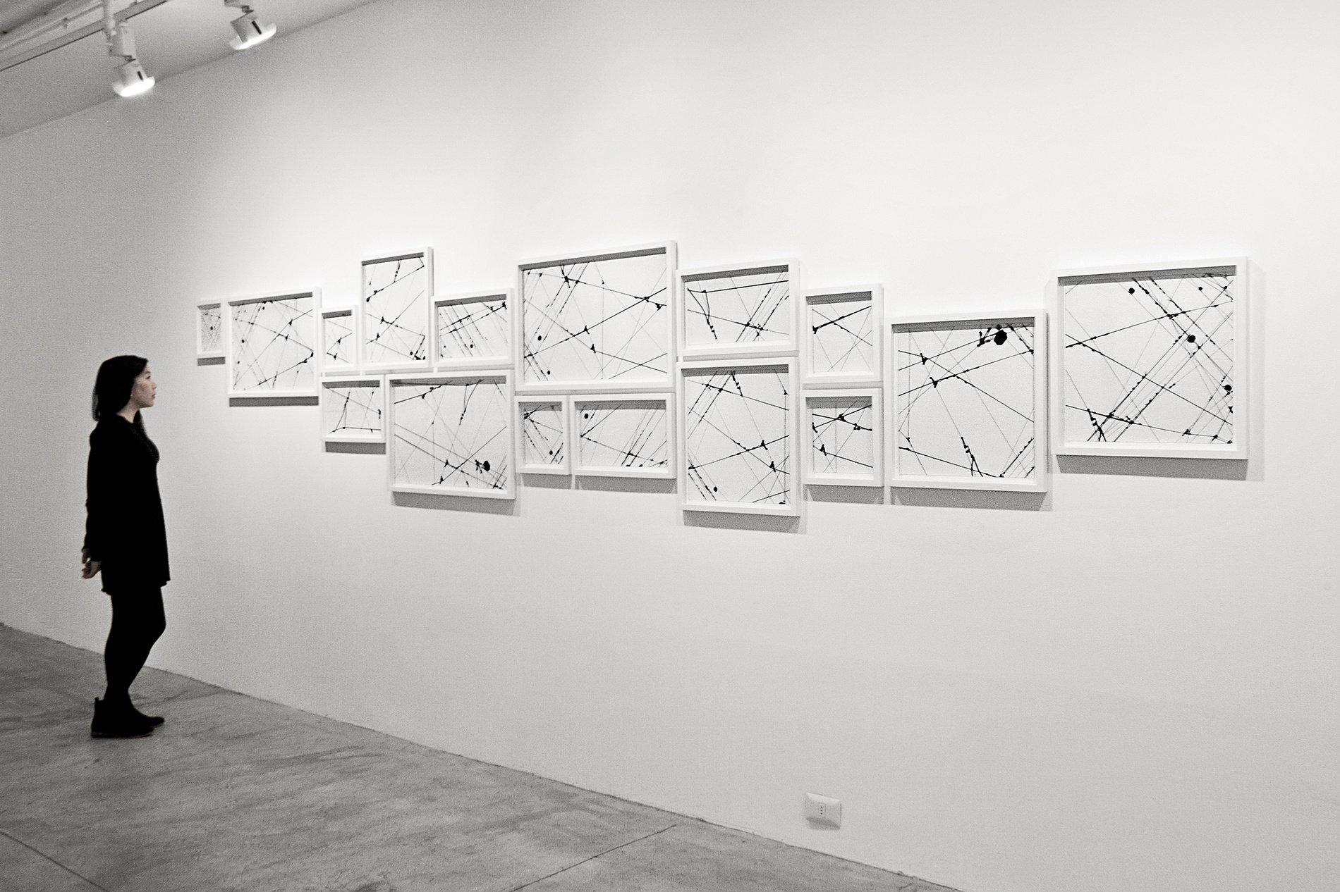 Lines 06-1 - Installation view