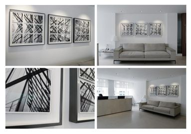 Structure Variations /Private commission for Derwent London / Installation view