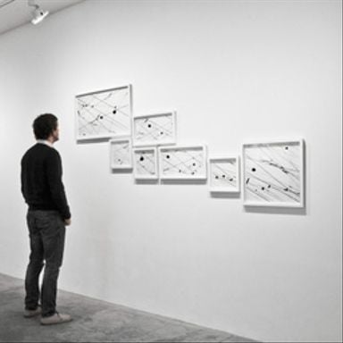 Lines 06-3 - Installation view