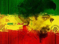 Wallpaper Gong Zilla