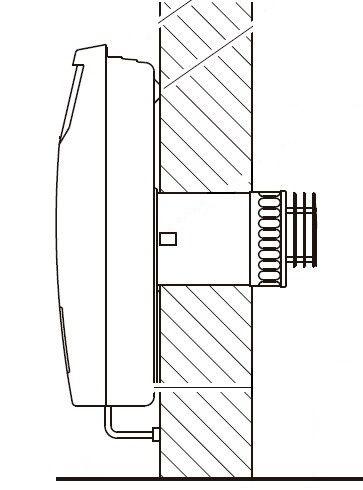 Calefactor 41200CN Tiro Balanceado