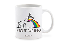 Tazón Unicornio