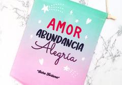 Banderín Amor, Abundancia y Alegria